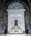 S. ambrogio, fi, interno, cappella del sacramento, mino da fiesole 02.JPG