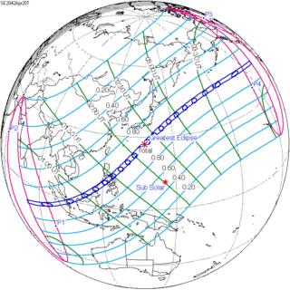 Solar Eclipse Of April 20 2042