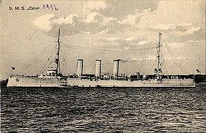 Kolberg-class cruiser - Image: SMS Coeln