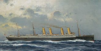 SS Kaiser Wilhelm II - Postcard of Kaiser Wilhelm II