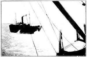 SS Koombana towed by SS Winfield, 1909.jpg