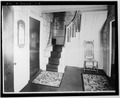 STAIR HALL - Colonel Paul Wentworth House, Dover Street (moved to MA, Dover), Dover, Strafford County, NH HABS NH,9-SALFA,1-3.tif