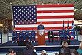 STS-103 crew return ceremony at Ellington Field (28233337091).jpg