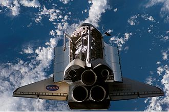 STS-117 - Atlantis approaches the ISS