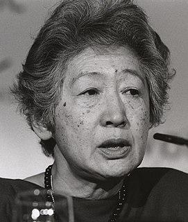 Sadako Ogata Japanese diplomat