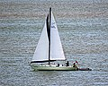 Sailing yacht 'Globetrotter' off Broadstairs, Kent, England.jpg