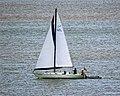 Sailing yacht 'Globetrotter' off Broadstairs, Kent, England.jpg