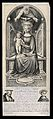 Saint Mary (the Blessed Virgin) with the Christ Child, Saint Wellcome V0034005.jpg