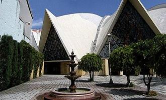 Colonia del Valle - Templo de Santa Mónica
