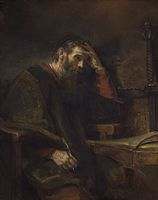 Saint Paul, Rembrandt van Rijn (and Workshop?), c. 1657.jpg