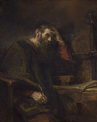 Saint Paul, Rembrandt van Rijn (and Workshop?), c. 1657.jpg