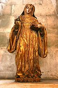 Saint Umbeline - Portugal - 17th century - wood.JPG