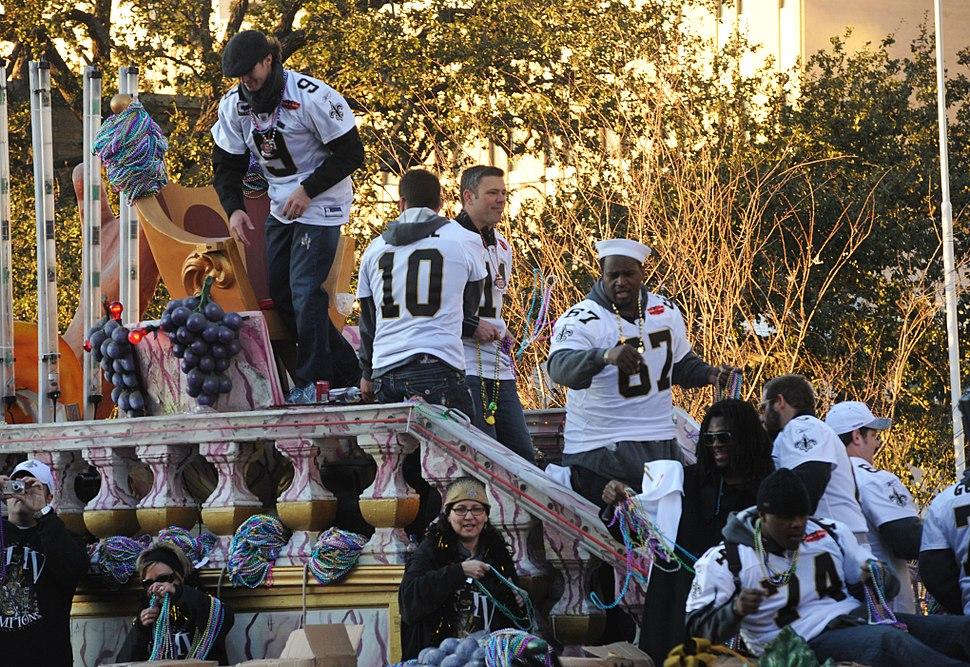 Saints Victory Parade 2010
