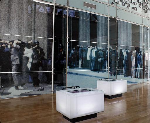 Sala 11 de septiembre del Museo de la Memoria1