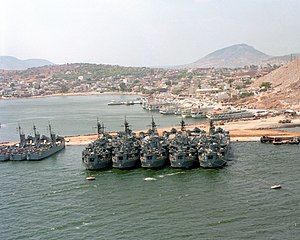 Salamis Naval Base with LSTs and LSMs 1979.jpg