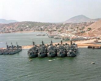 Salamis Island - Salamis Naval Base