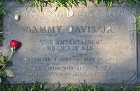 Sammy Davis Jr. Grave.JPG