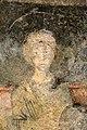 San lorenzo in insula, cripta di epifanio, affreschi di scuola benedettina, 824-842 ca., madonna in trono bendicente e sei angeli con scettro e globo 11.jpg