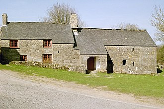 Longhouse - Dartmoor granite longhouse