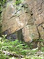 Sandstone Face at Appley Bridge - geograph.org.uk - 173740.jpg