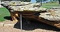 Sandstone toadstools (Dakota Sandstone, Upper Cretaceous; outcrop south of Interstate 70, Ellsworth County, Kansas, USA) 5 (39183472072).jpg