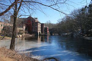 Medway, Massachusetts - Sanford Mills on the Charles River