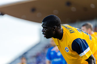 Khalifa Sankaré - Sankaré with Asteras Tripolis in 2014