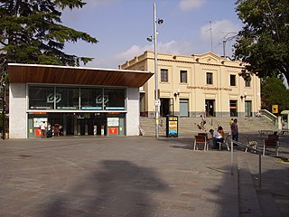 Spanish railway station