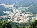Sant Feliu de Pallerols des del santuari de la Salut - panoramio.jpg