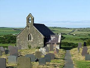 St Maethlu's Church, Llanfaethlu - Image: Sant Maethlu Church