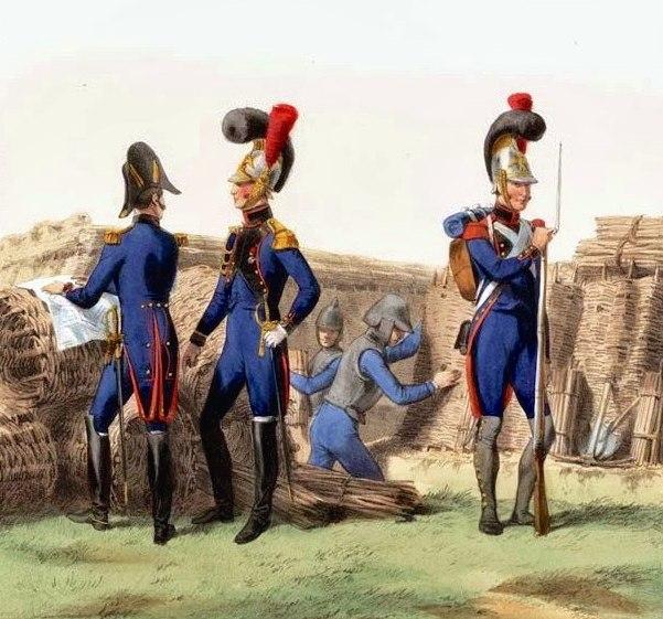 Sapeurs du génie de la Garde impériale, 1810 crop