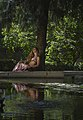 Sara Guirado en los Jardines de Monforte, Valencia 01.jpg
