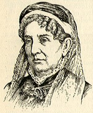 Sarah Childress Polk - Polk in her later years