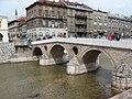 Sarajevo Miljacka i most (3396705552).jpg