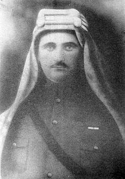 Sarkis Torossian as commander of Arab forces in Damascus during World War I.jpg