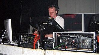 Sasha (DJ) - Sasha using Ableton Live at a 15 July 2006 performance at Panama, an Amsterdam nightclub.