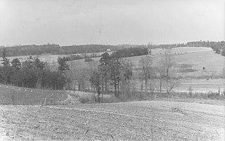Saylers Creek Battlefield United States historic place