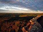 Näkymä Ozarkeille White Rock -vuoren huipulta.