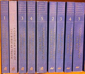 Francis Schaeffer - The complete works of Francis Schaeffer, multiple books now all in one set.