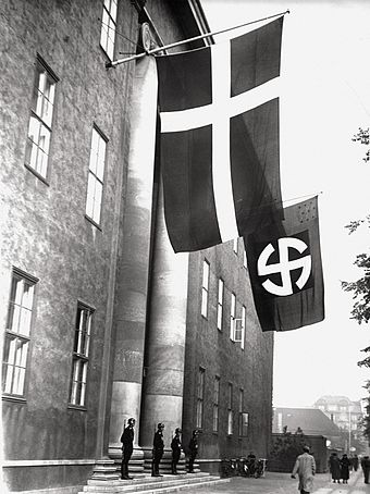 HQ of the Schalburg Corps in Copenhagen in 1943 Schalburgerblegdamsvej.jpg