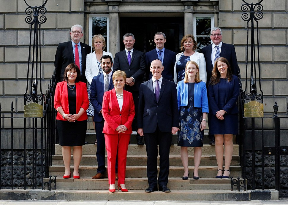 Scottish Cabinet, 2018