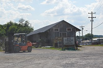 National Register of Historic Places listings in Allen County, Kentucky - Image: Scottsville Freight Depot