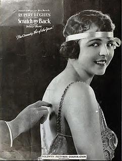 <i>Scratch My Back</i> (film) 1920 film by Sidney Olcott