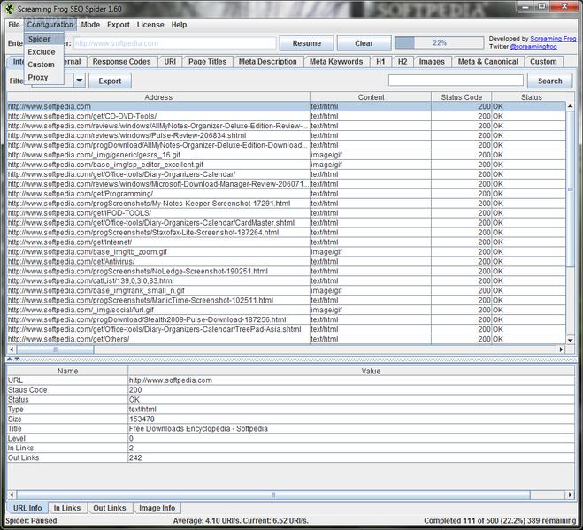 File:Screaming Frog SEO Spider Screenshot.png
