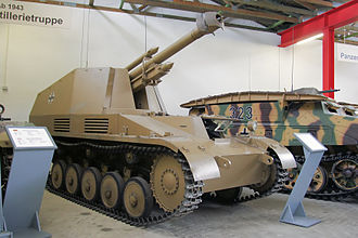 Wespe - Wespe at the Deutsches Panzermuseum in Munster, Germany