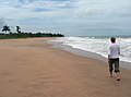 Sea Coastline and Beach, Central region, South Ghana.jpg