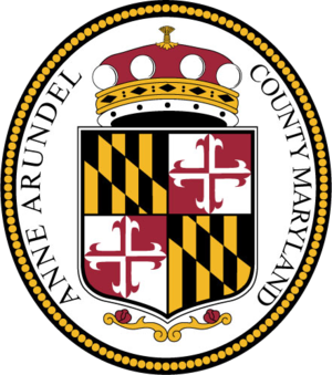 Anne Arundel County Police Department - Image: Seal of Anne Arundel County, Maryland