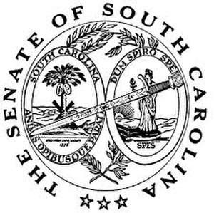 Seal of South Carolina - Image: Seal of the Senate of South Carolina