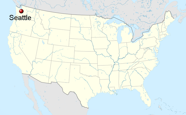 file seattle on the map of the united states wikimedia mons