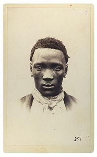 Sebele I Tribal chief of the Kwena